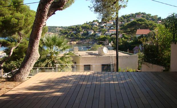 Terrasse en bois entretien et r novation de piscine et jardin aix en provence vert et sens - Terrasse piscine hors terre aixen provence ...