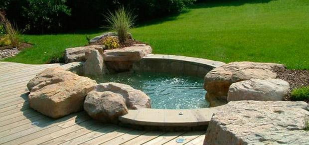 Modules et jeux d eau le tholonet trets aix en provence - Piscine bassin exterieur aixen provence ...